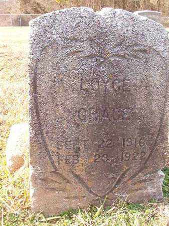 GRACE, LOYCE - Dallas County, Arkansas | LOYCE GRACE - Arkansas Gravestone Photos