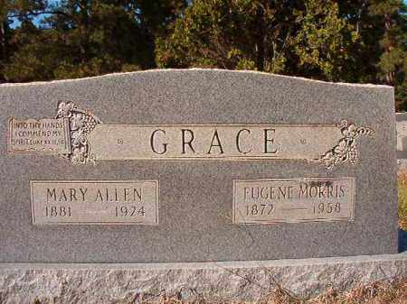 ALLEN GRACE, MARY - Dallas County, Arkansas | MARY ALLEN GRACE - Arkansas Gravestone Photos