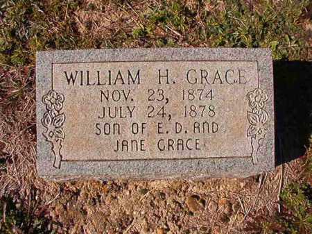 GRACE, WILLIAM H - Dallas County, Arkansas | WILLIAM H GRACE - Arkansas Gravestone Photos