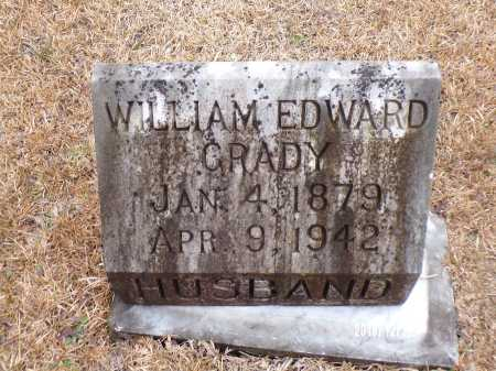 GRADY, WILLIAM EDWARD - Dallas County, Arkansas | WILLIAM EDWARD GRADY - Arkansas Gravestone Photos