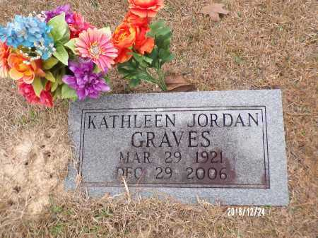 GRAVES, KATHLEEN - Dallas County, Arkansas | KATHLEEN GRAVES - Arkansas Gravestone Photos