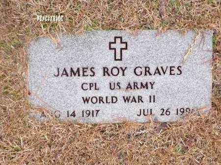 GRAVES (VETERAN WWII), JAMES ROY - Dallas County, Arkansas | JAMES ROY GRAVES (VETERAN WWII) - Arkansas Gravestone Photos