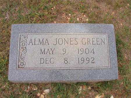 JONES GREEN, ALMA - Dallas County, Arkansas | ALMA JONES GREEN - Arkansas Gravestone Photos