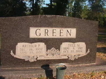 GREEN, ARTHUR P - Dallas County, Arkansas | ARTHUR P GREEN - Arkansas Gravestone Photos