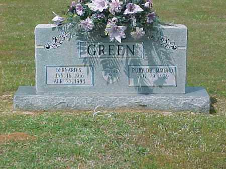 GREEN, BERNARD S. - Dallas County, Arkansas   BERNARD S. GREEN - Arkansas Gravestone Photos