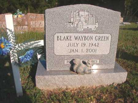GREEN, BLAKE WAYBON - Dallas County, Arkansas | BLAKE WAYBON GREEN - Arkansas Gravestone Photos