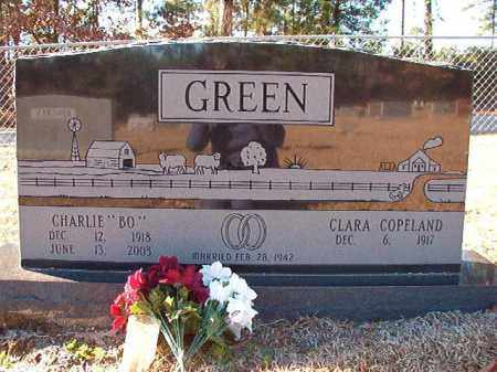 "GREEN, CHARLIE ""BO"" - Dallas County, Arkansas 