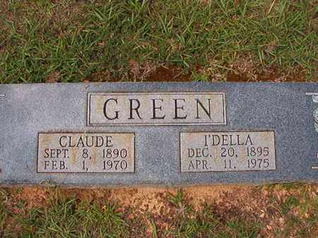 GREEN, CLAUDE - Dallas County, Arkansas | CLAUDE GREEN - Arkansas Gravestone Photos