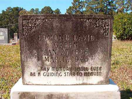 GREEN, EDMOND DAVID - Dallas County, Arkansas | EDMOND DAVID GREEN - Arkansas Gravestone Photos