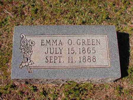 GREEN, EMMA O - Dallas County, Arkansas | EMMA O GREEN - Arkansas Gravestone Photos