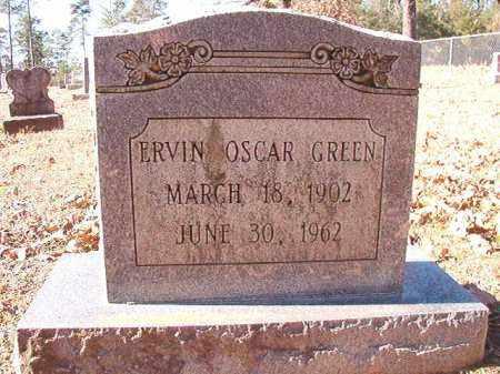 GREEN, ERVIN OSCAR - Dallas County, Arkansas | ERVIN OSCAR GREEN - Arkansas Gravestone Photos