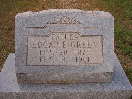 GREEN, EDGAR E - Dallas County, Arkansas | EDGAR E GREEN - Arkansas Gravestone Photos