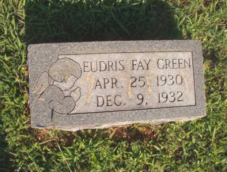 GREEN, EUDRIS FAY - Dallas County, Arkansas | EUDRIS FAY GREEN - Arkansas Gravestone Photos