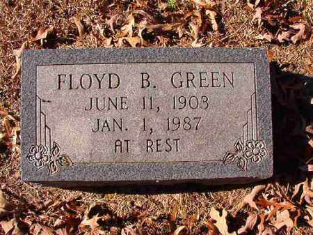 GREEN, FLOYD B - Dallas County, Arkansas | FLOYD B GREEN - Arkansas Gravestone Photos