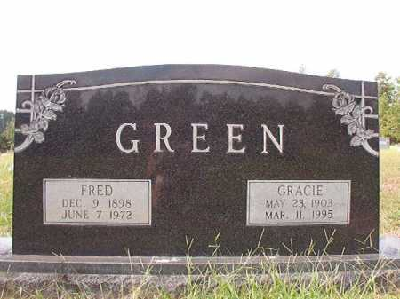 GREEN, GRACIE - Dallas County, Arkansas | GRACIE GREEN - Arkansas Gravestone Photos