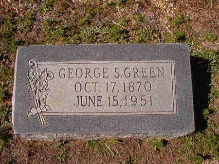 GREEN, GEORGE S - Dallas County, Arkansas | GEORGE S GREEN - Arkansas Gravestone Photos