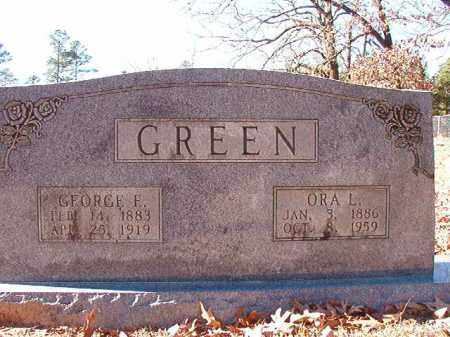 GREEN, ORA L - Dallas County, Arkansas | ORA L GREEN - Arkansas Gravestone Photos