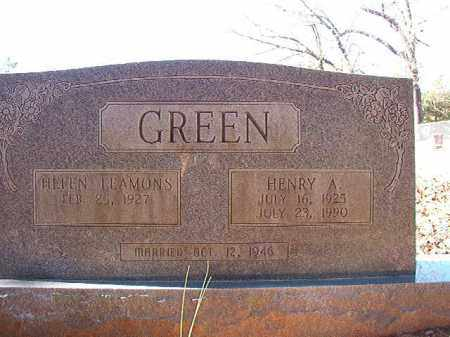 GREEN, HENRY A - Dallas County, Arkansas | HENRY A GREEN - Arkansas Gravestone Photos