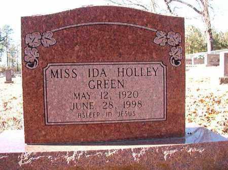GREEN, IDA HOLLEY - Dallas County, Arkansas | IDA HOLLEY GREEN - Arkansas Gravestone Photos