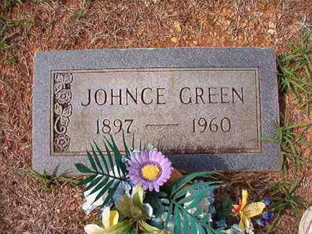 GREEN, JOHNCE - Dallas County, Arkansas | JOHNCE GREEN - Arkansas Gravestone Photos