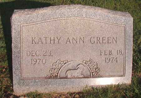 GREEN, KATHY ANN - Dallas County, Arkansas | KATHY ANN GREEN - Arkansas Gravestone Photos
