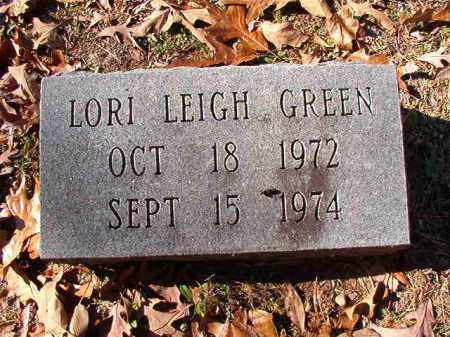 GREEN, LORI LEIGH - Dallas County, Arkansas | LORI LEIGH GREEN - Arkansas Gravestone Photos