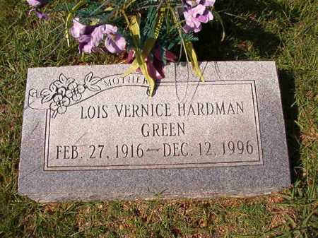 GREEN, LOIS VERNICE - Dallas County, Arkansas | LOIS VERNICE GREEN - Arkansas Gravestone Photos