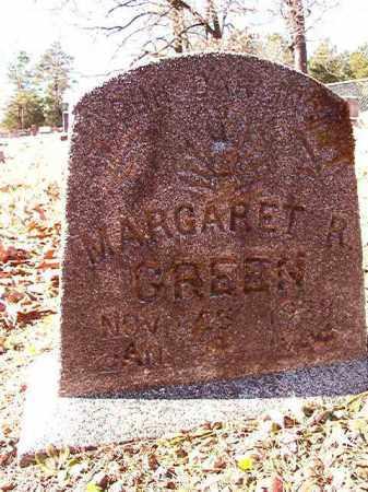 GREEN, MARGARET R - Dallas County, Arkansas | MARGARET R GREEN - Arkansas Gravestone Photos