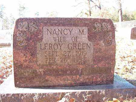 GREEN, NANCY M - Dallas County, Arkansas | NANCY M GREEN - Arkansas Gravestone Photos