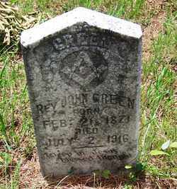 GREEN, REV, JOHN - Dallas County, Arkansas | JOHN GREEN, REV - Arkansas Gravestone Photos
