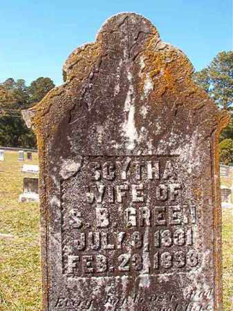 GREEN, SCYTHA - Dallas County, Arkansas | SCYTHA GREEN - Arkansas Gravestone Photos