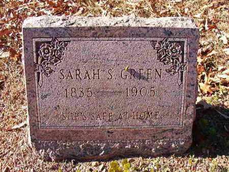 GREEN, SARAH S - Dallas County, Arkansas | SARAH S GREEN - Arkansas Gravestone Photos