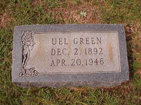 GREEN, UEL - Dallas County, Arkansas | UEL GREEN - Arkansas Gravestone Photos