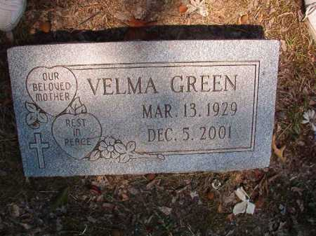 GREEN, VELMA - Dallas County, Arkansas | VELMA GREEN - Arkansas Gravestone Photos
