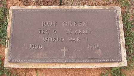 GREEN (VETERAN WWII), ROY - Dallas County, Arkansas | ROY GREEN (VETERAN WWII) - Arkansas Gravestone Photos