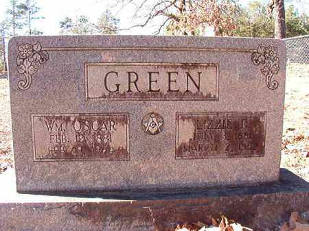 GREEN, LIZZIE R - Dallas County, Arkansas | LIZZIE R GREEN - Arkansas Gravestone Photos