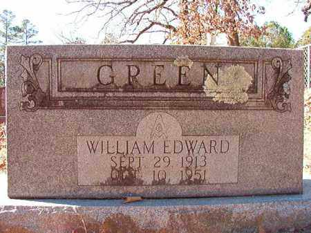 GREEN, WILLIAM EDWARD - Dallas County, Arkansas | WILLIAM EDWARD GREEN - Arkansas Gravestone Photos