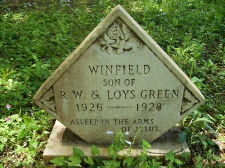 GREEN, WINFIELD - Dallas County, Arkansas | WINFIELD GREEN - Arkansas Gravestone Photos