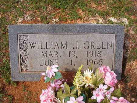 GREEN, WILLIAM J - Dallas County, Arkansas | WILLIAM J GREEN - Arkansas Gravestone Photos