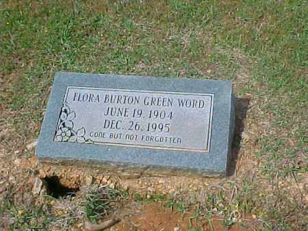 GREEN WORD, FLORA - Dallas County, Arkansas | FLORA GREEN WORD - Arkansas Gravestone Photos