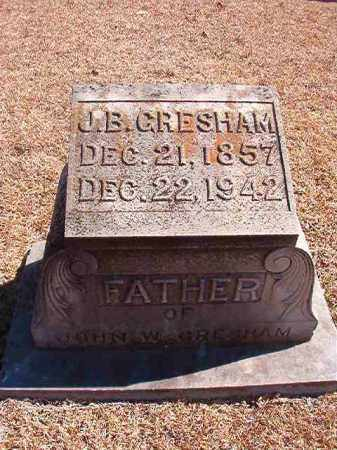 GRESHAM, J B - Dallas County, Arkansas | J B GRESHAM - Arkansas Gravestone Photos