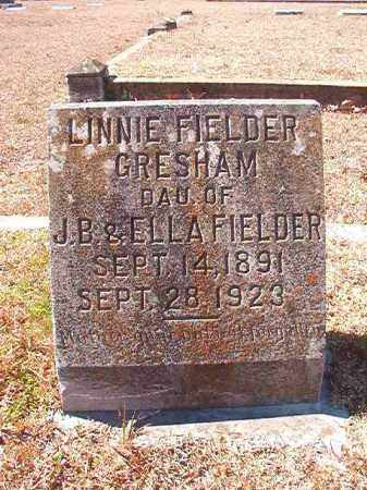 FIELDER GRESHAM, LINNIE - Dallas County, Arkansas | LINNIE FIELDER GRESHAM - Arkansas Gravestone Photos
