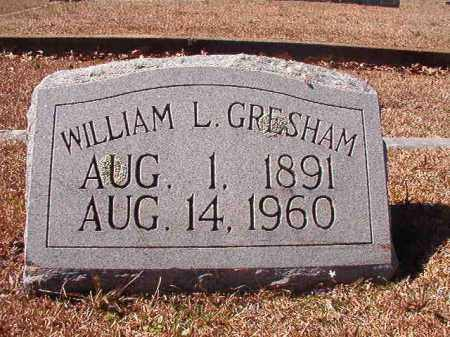 GRESHAM, WILLIAM L - Dallas County, Arkansas | WILLIAM L GRESHAM - Arkansas Gravestone Photos