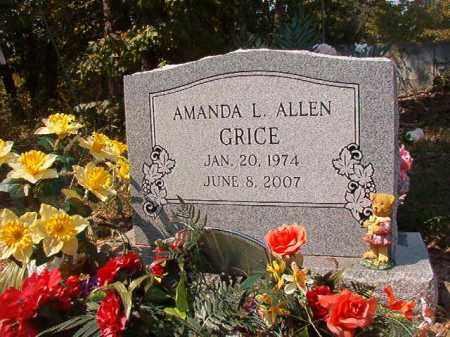 ALLEN GRICE, AMANDA L - Dallas County, Arkansas | AMANDA L ALLEN GRICE - Arkansas Gravestone Photos
