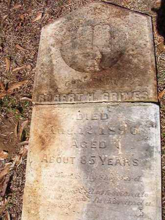 GRIMES, ROBERT H - Dallas County, Arkansas | ROBERT H GRIMES - Arkansas Gravestone Photos