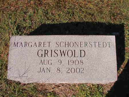 GRISWOLD, MARGARET - Dallas County, Arkansas | MARGARET GRISWOLD - Arkansas Gravestone Photos