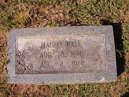 HALL, MAUZEE - Dallas County, Arkansas | MAUZEE HALL - Arkansas Gravestone Photos