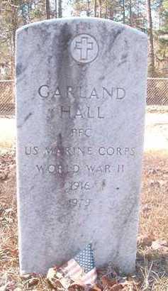 HALL (VETERAN WWII), GARLAND - Dallas County, Arkansas | GARLAND HALL (VETERAN WWII) - Arkansas Gravestone Photos