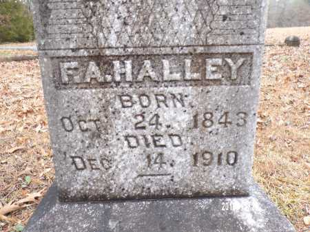 HALLEY, F A - Dallas County, Arkansas | F A HALLEY - Arkansas Gravestone Photos