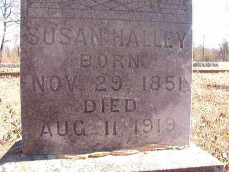 HALLEY, SUSAN - Dallas County, Arkansas | SUSAN HALLEY - Arkansas Gravestone Photos